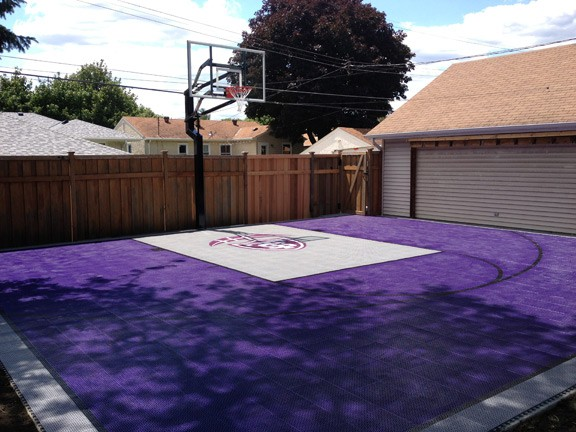 Outdoor Basketball Courts Game Courts Millz House Snapsports Mn
