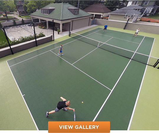 Snapsports Residential Commercial Tennis Court Construction