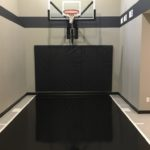 Millz House installed custom floor coating game court featured in the 2018 Fall Parade of Homes
