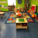 Millz House Custom Blend Floor Coating in Daycare Facility