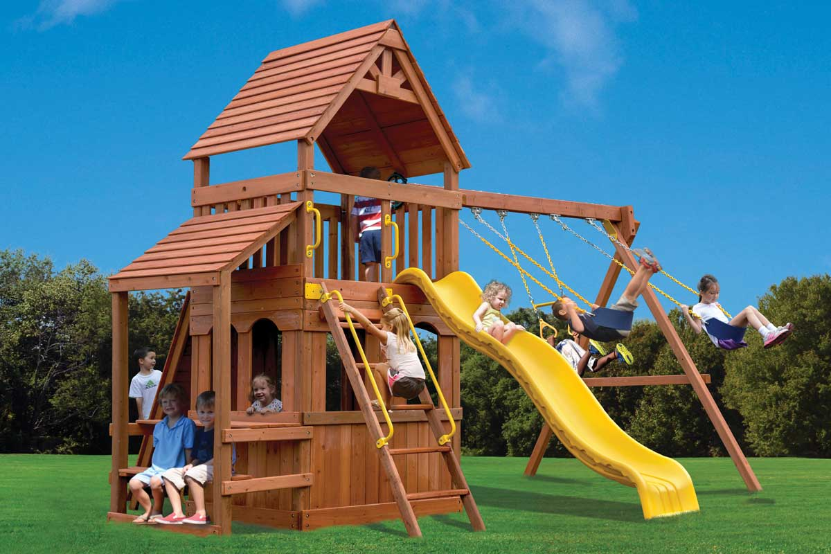Millz House sells Playground One Original Fort Hangout Playset
