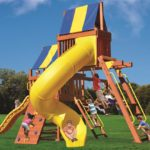 Millz House sells Playground One Original Fort Combo 5 Wooden Play Sets
