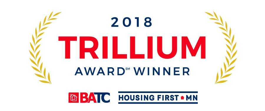 Millz House was honored with the 2018 BATC Trillium Award
