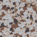 Millz House Floor Coating Color Sample Almond All Chip