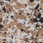 Millz House Floor Coating Color Sample Bean All Chip