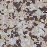 Millz House Floor Coating Sample in Buckskin All Chip