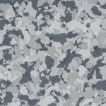 Millz House Floor Coating Color Sample in Gravel All Chip