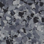 Millz House Floor Coating Color Sample in Nightfall All Chip