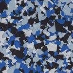 Millz House Floor Coating Color Sample in Orbit All Chip