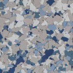 Millz House Floor Coating Color Sample in Stonewash All Chip