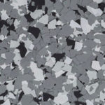 Millz House Floor Coating Color Sample in Wombat All Chip