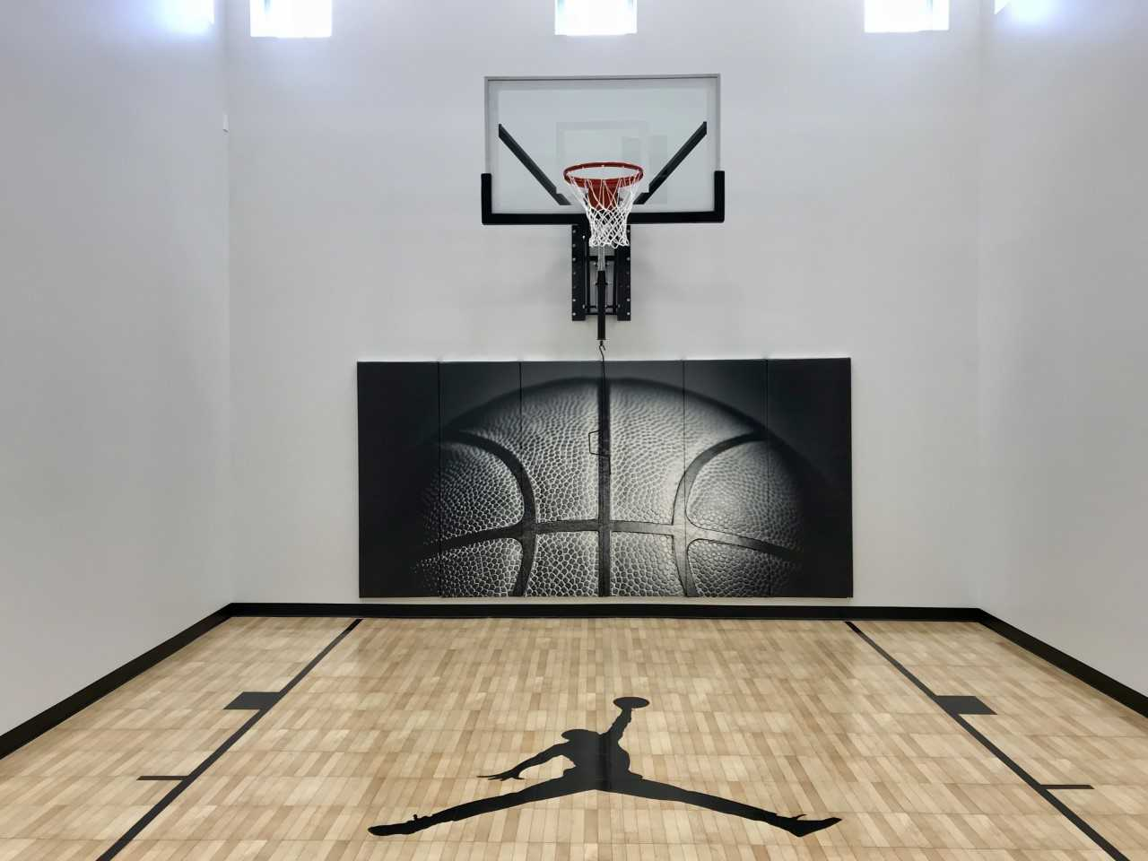 Basketball Wall Pad